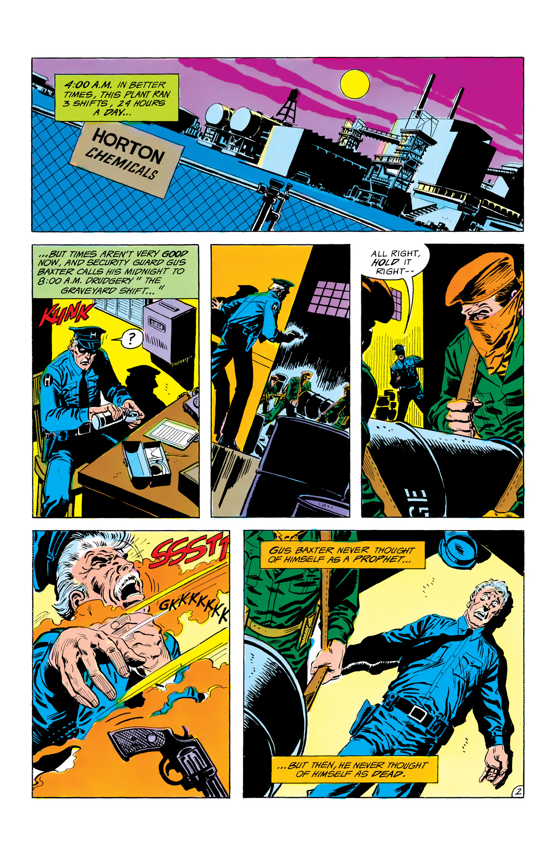 Batman and the Outsiders (1983) 3 Page 2