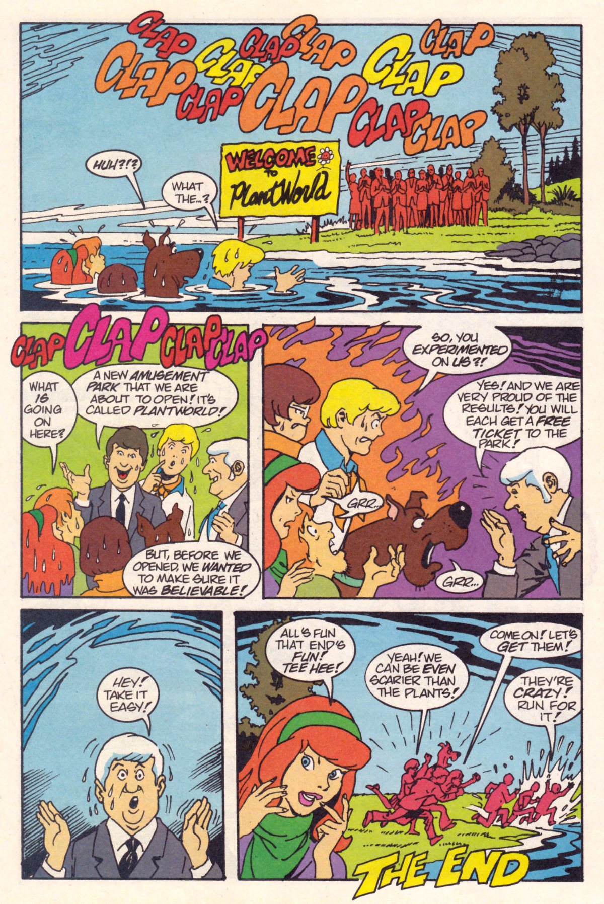 Read online Scooby-Doo (1995) comic -  Issue #12 - 23