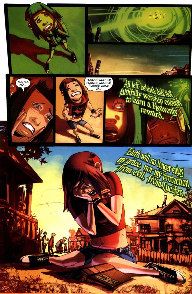 Strange Girl Issue #1 #2 - English 10