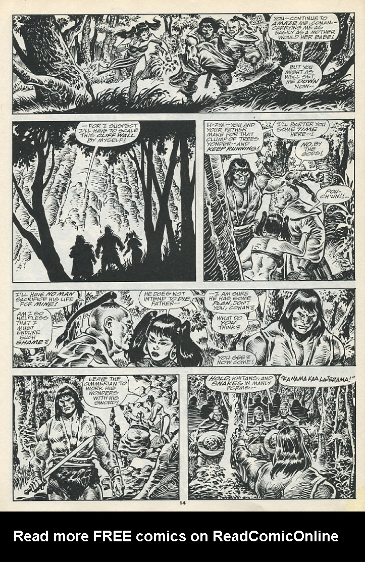 The Savage Sword Of Conan Issue #193 #194 - English 16