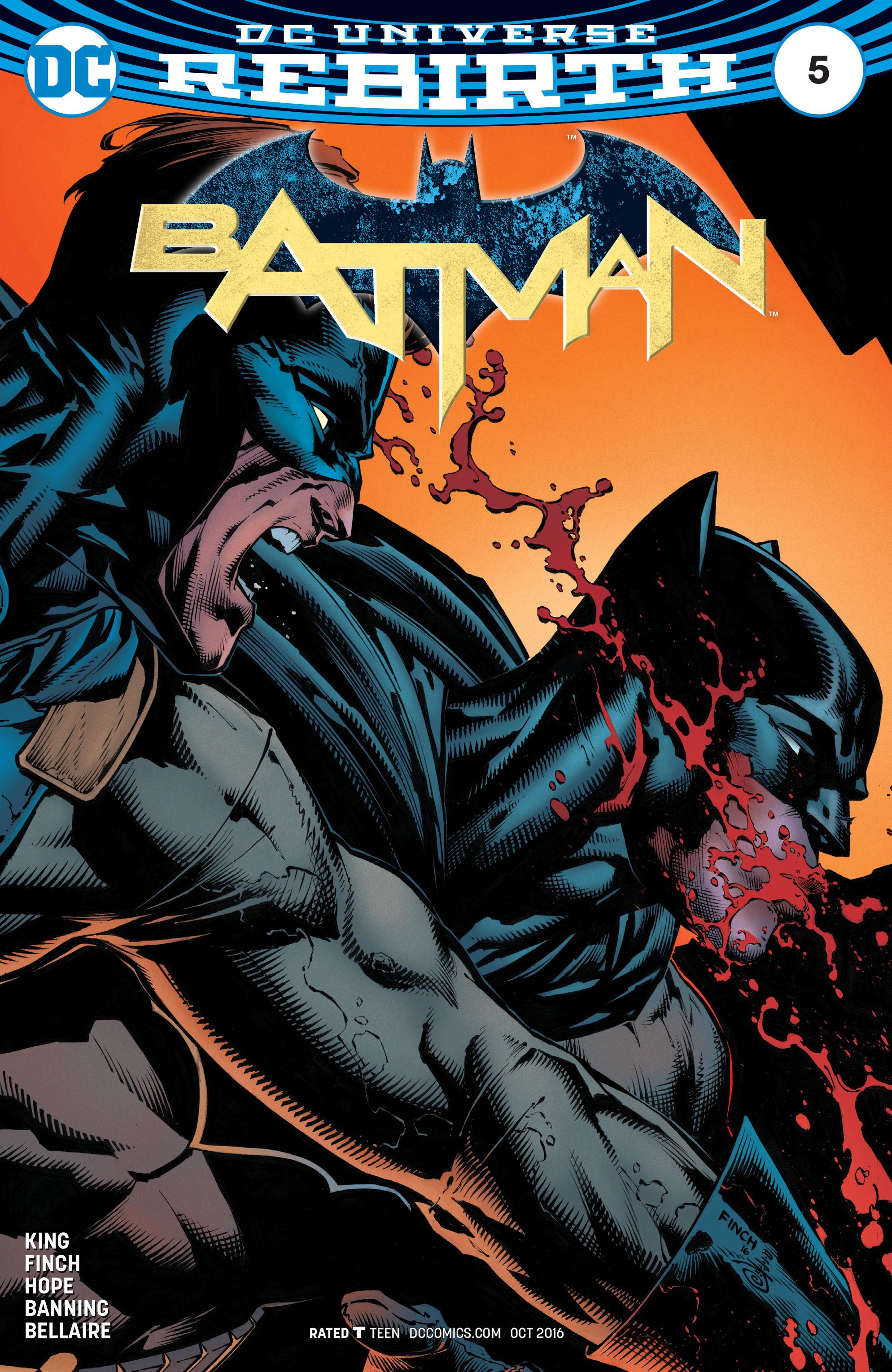 Batman (2016) 5 Page 1