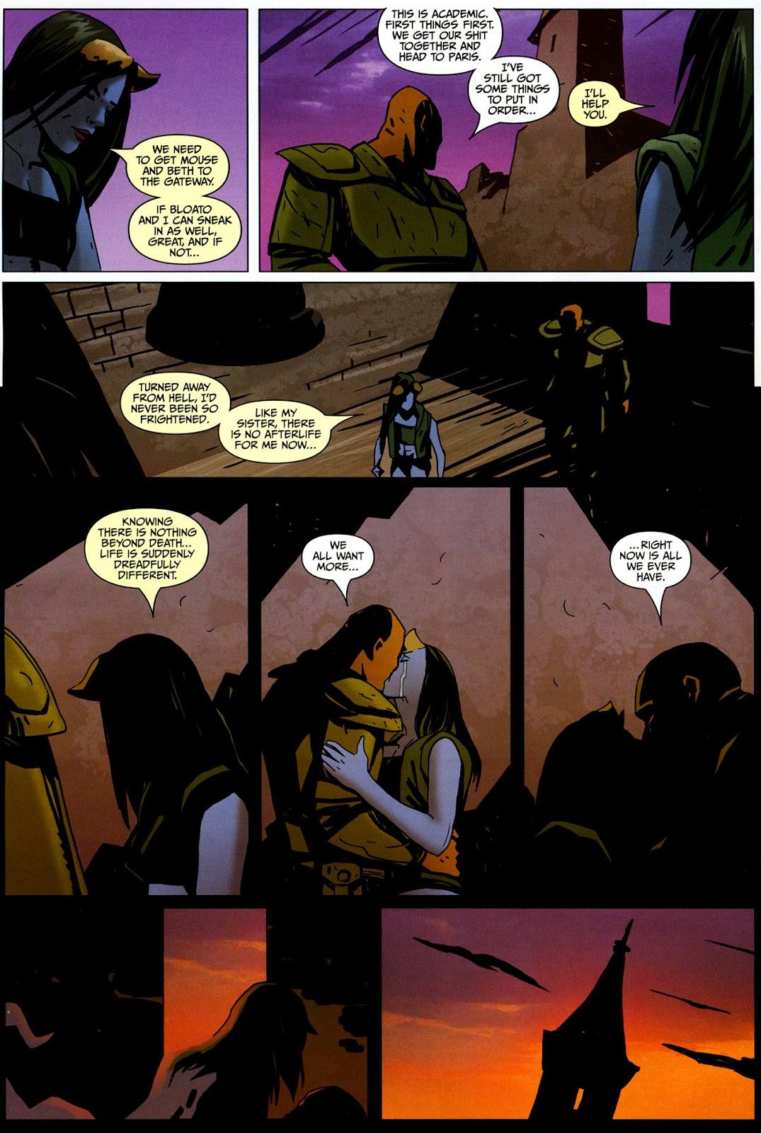Strange Girl Issue #17 #18 - English 16