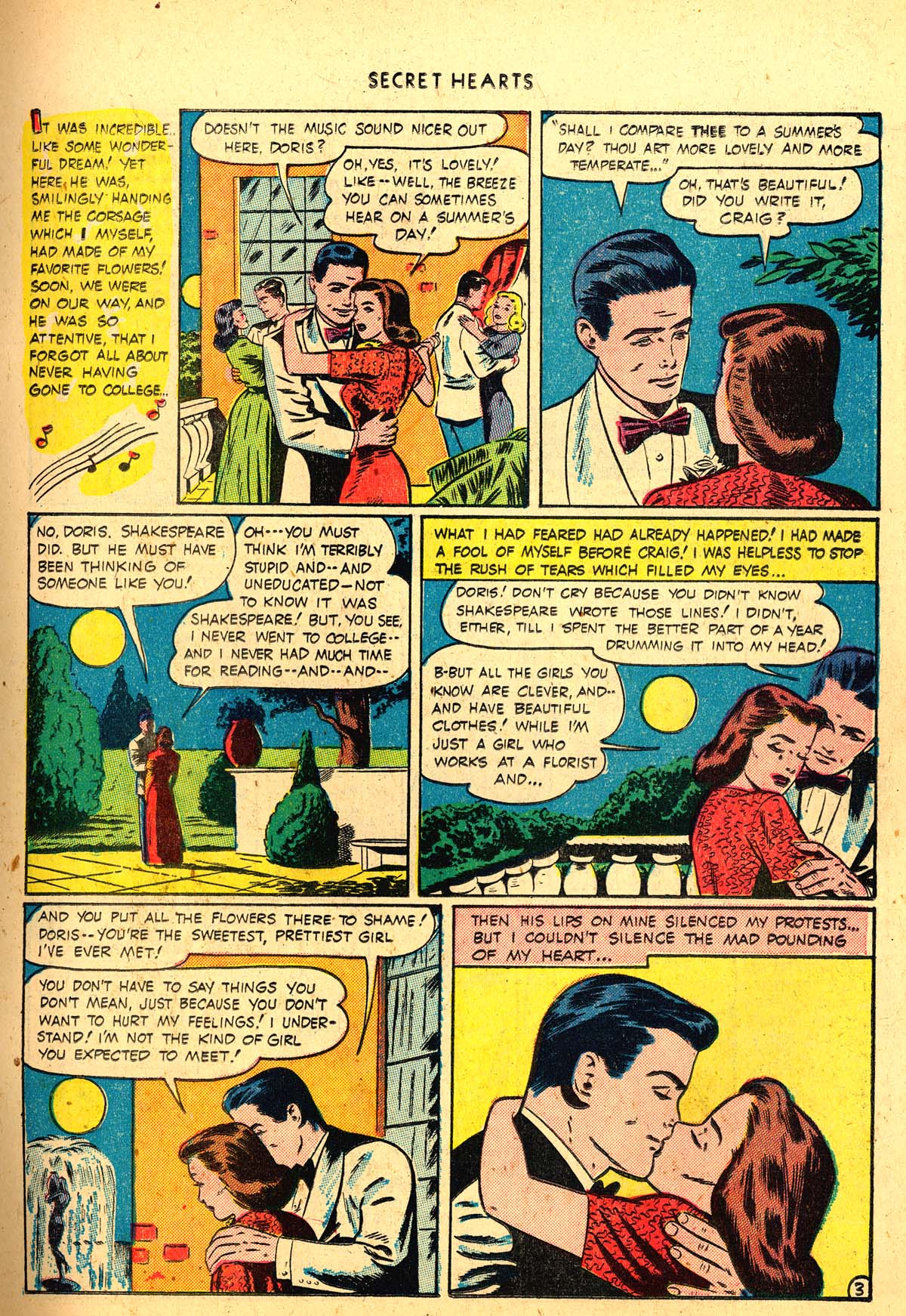 Read online Secret Hearts comic -  Issue #4 - 23