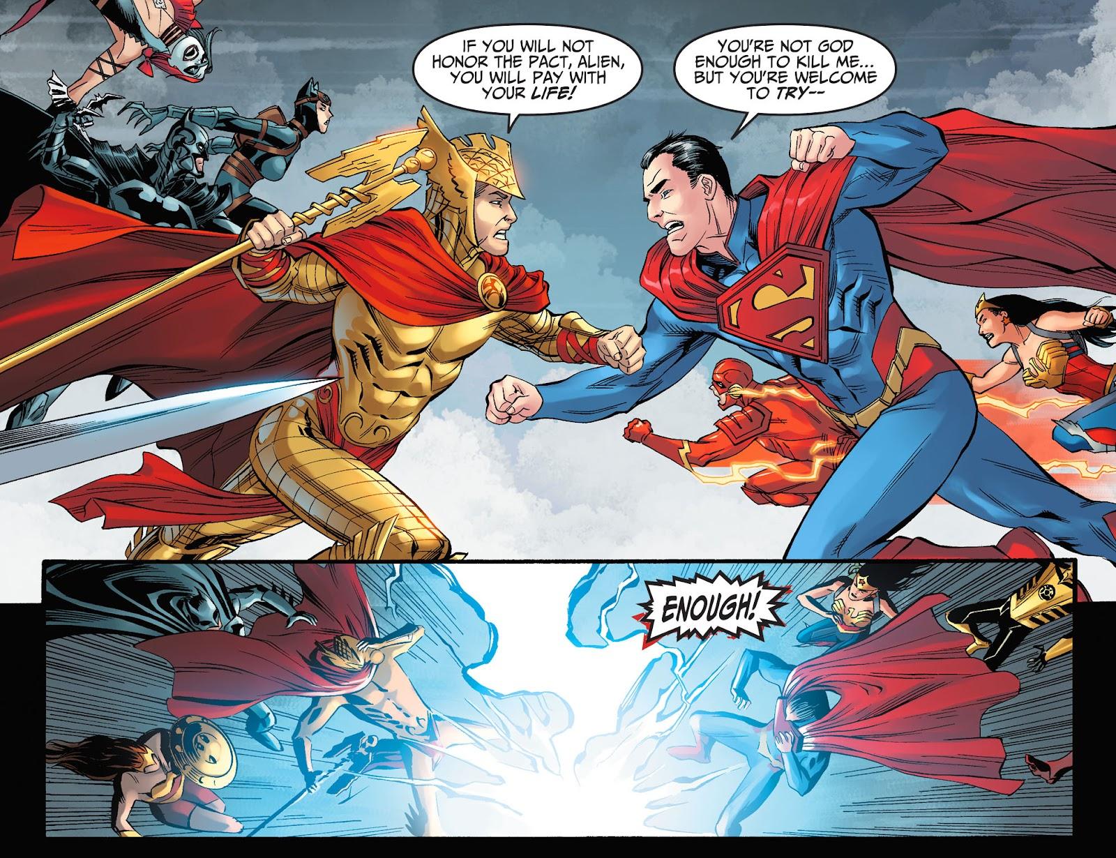 Injustice: Gods Among Us Year Four Issue #8 #9 - English 13