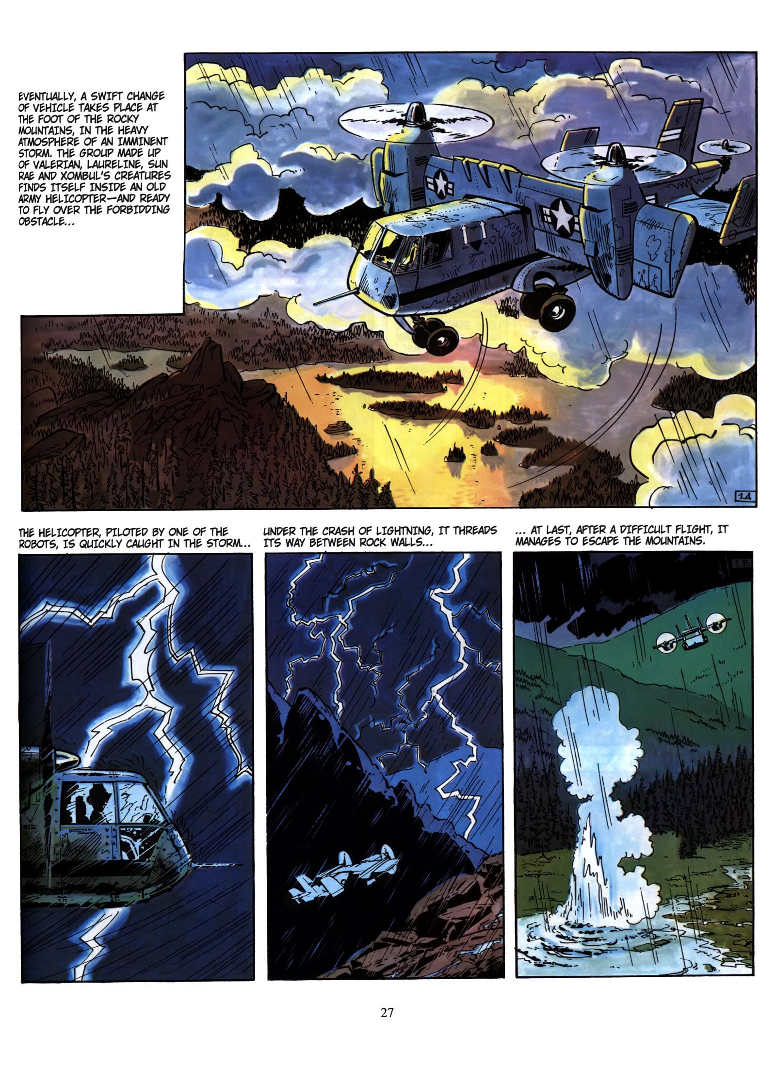 Valerian and Laureline #1 #23 - English 28