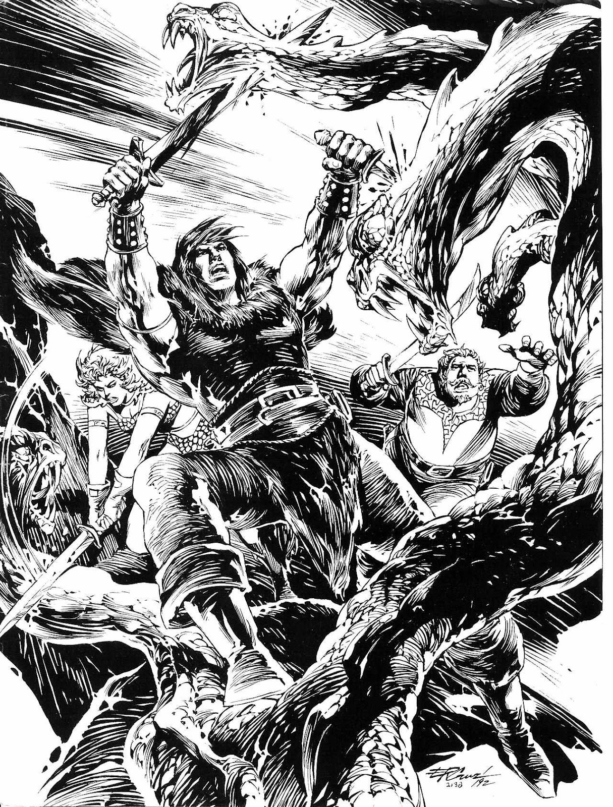 The Savage Sword Of Conan Issue #209 #210 - English 67
