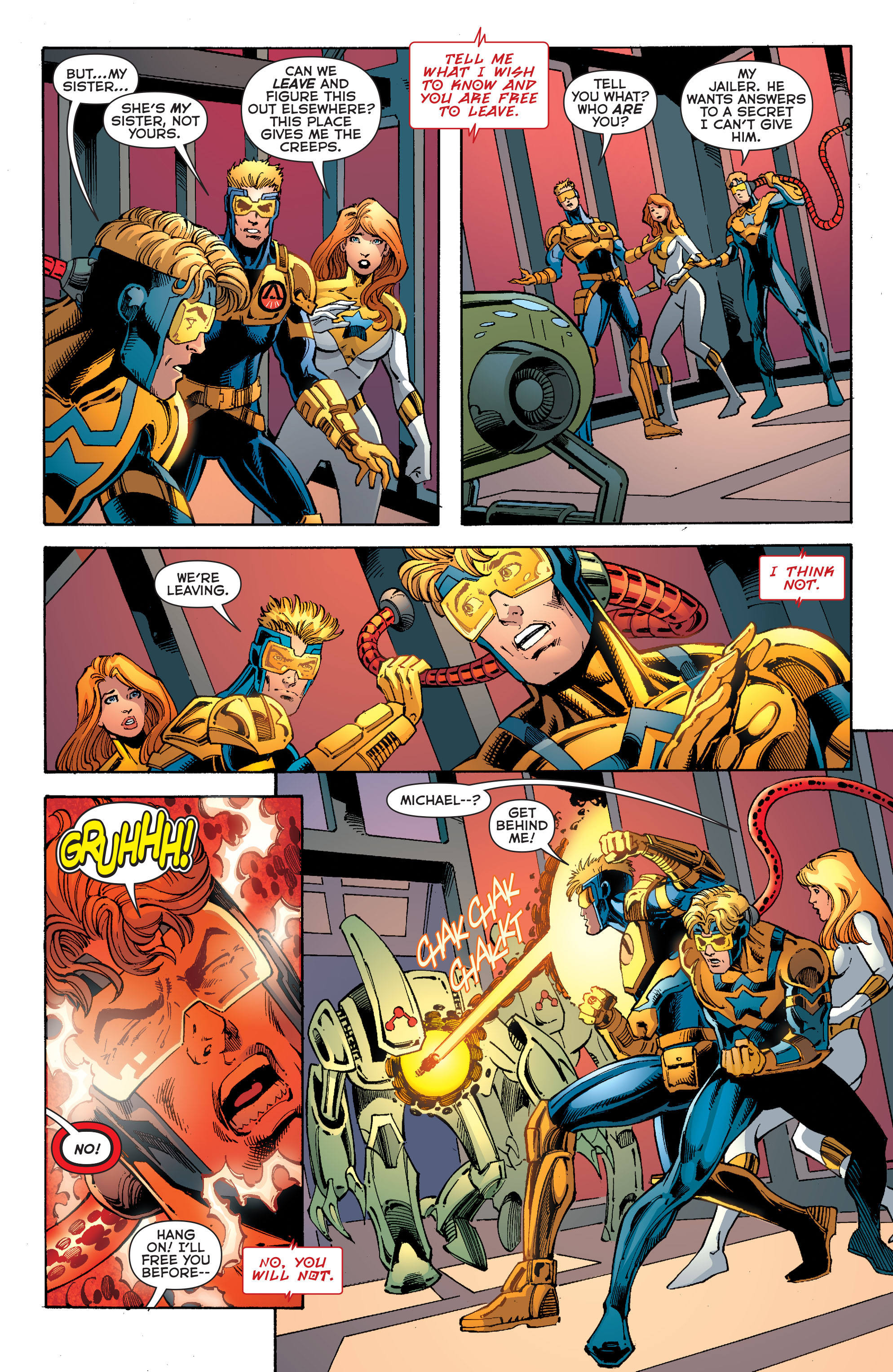 Read online Booster Gold: Futures End comic -  Issue # Full - 19