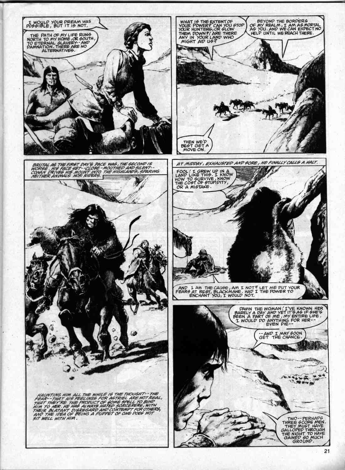 The Savage Sword Of Conan Issue #74 #75 - English 20