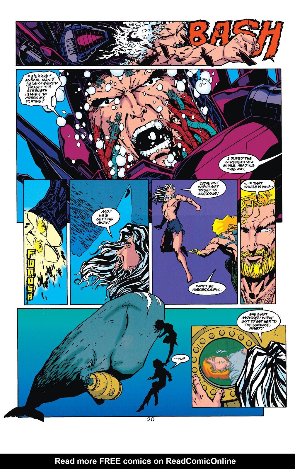 Aquaman (1994) Issue #35 #41 - English 20