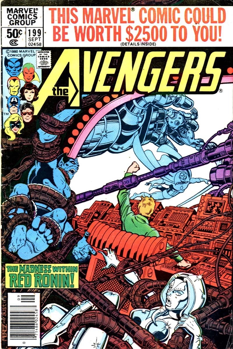 The Avengers (1963) 199 Page 1