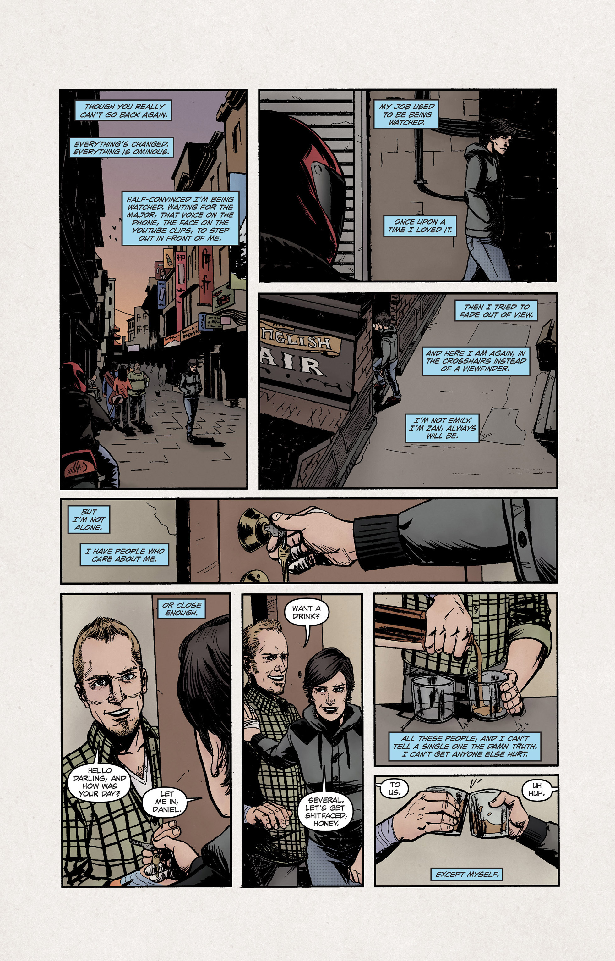 Read online High Crimes comic -  Issue #12 - 15