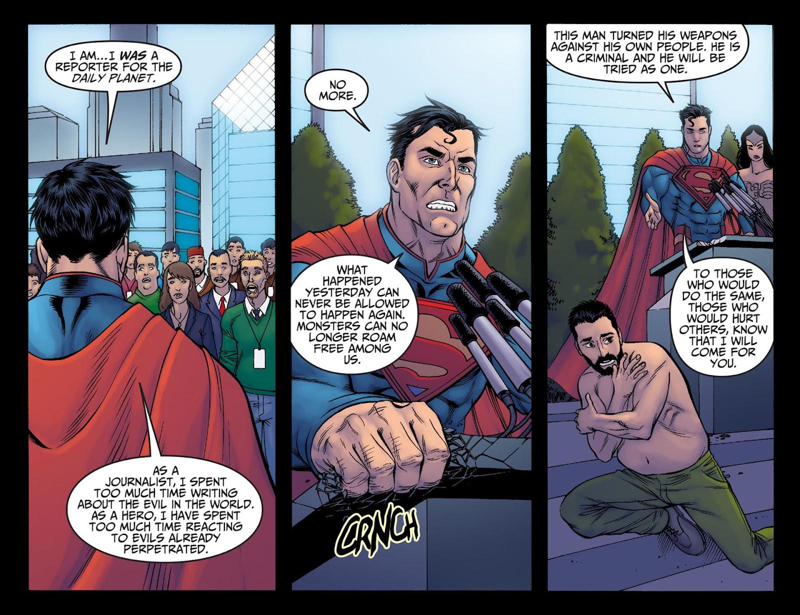 Injustice: Gods Among Us [I] Issue #6 #7 - English 21