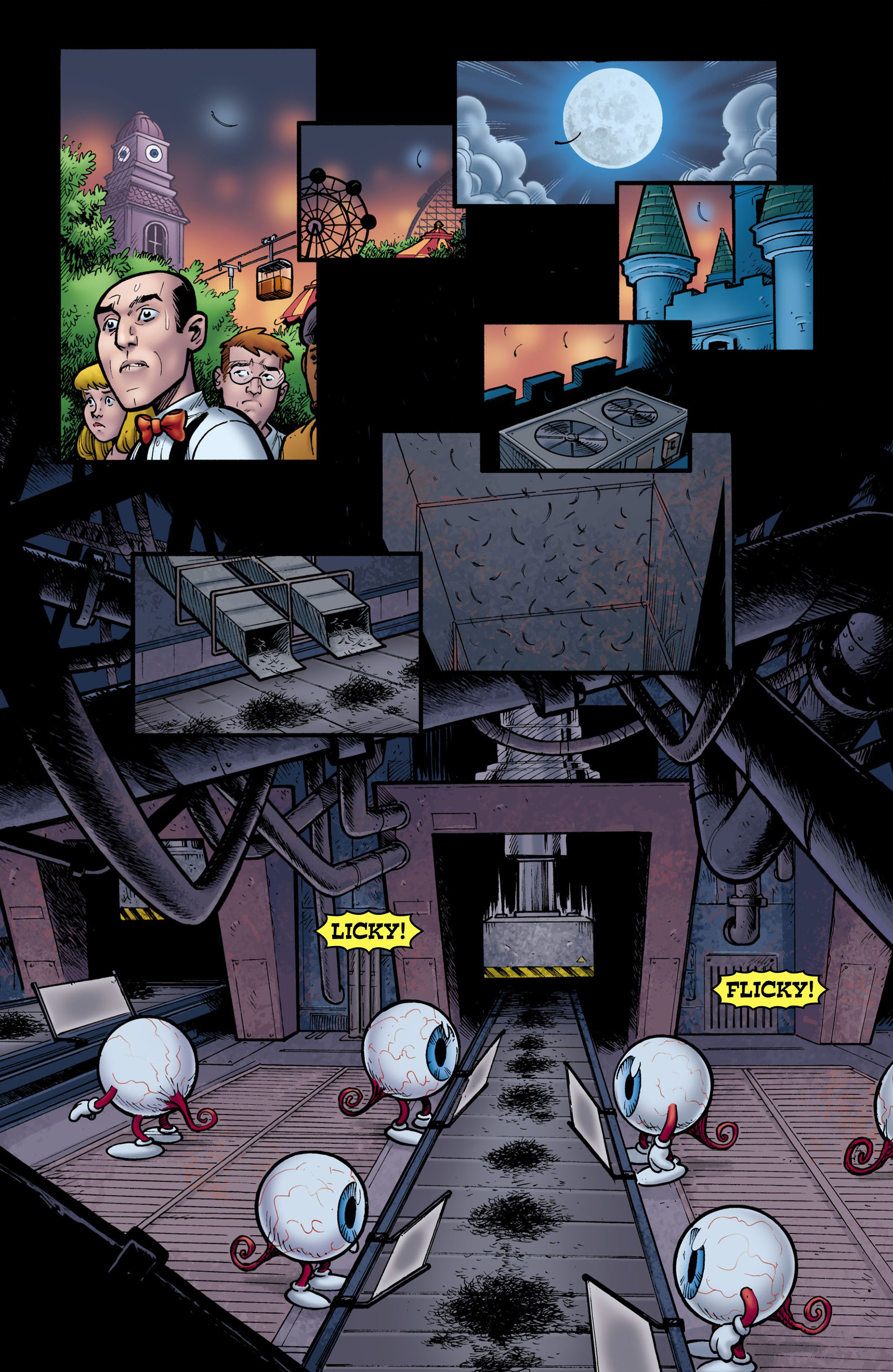 Read online Seaguy: The Slaves of Mickey Eye comic -  Issue #3 - 5
