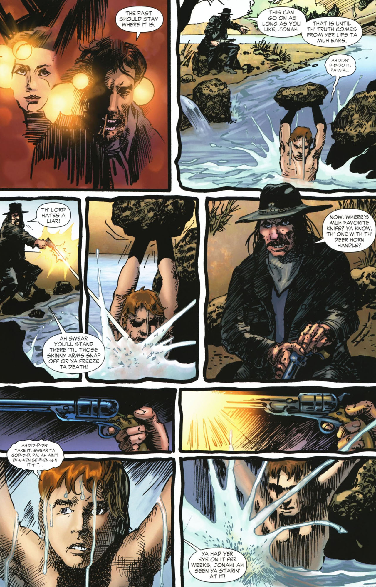 Read online Jonah Hex: No Way Back comic -  Issue # TPB - 54