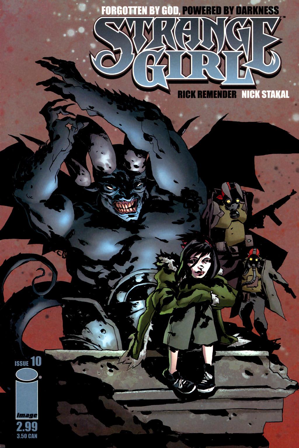Strange Girl Issue #10 #11 - English 1