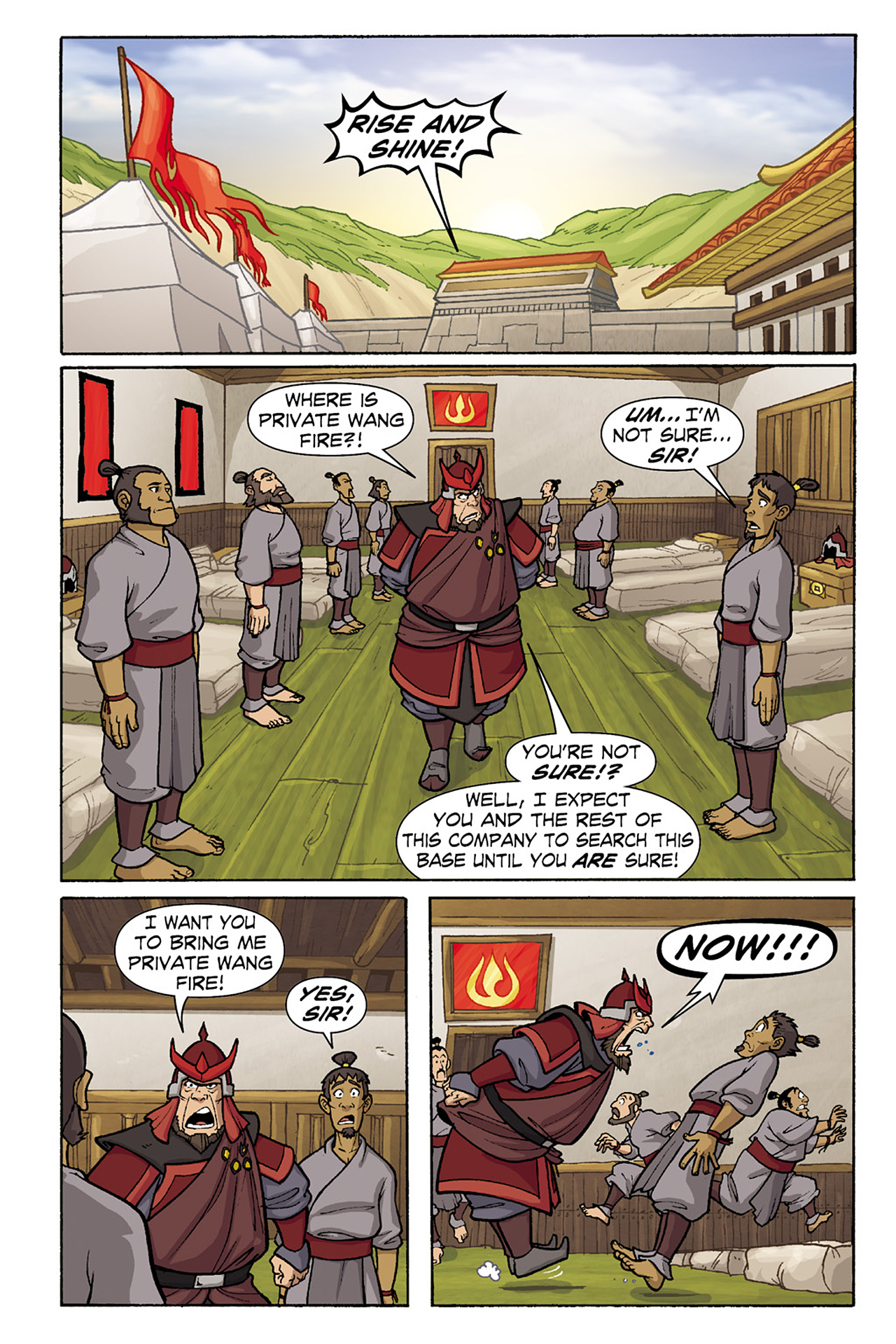 Nickelodeon Avatar: The Last Airbender - The Lost Adventures chap full pic 130