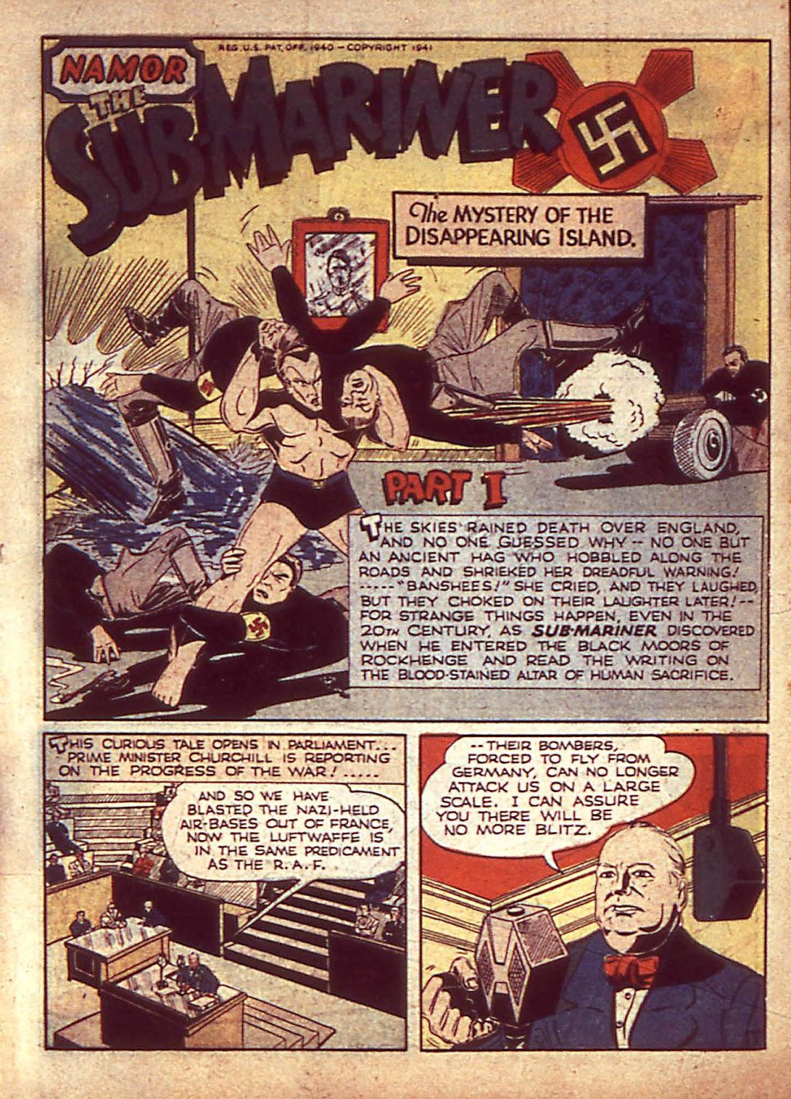 Sub-Mariner Comics Issue #3 #3 - English 4