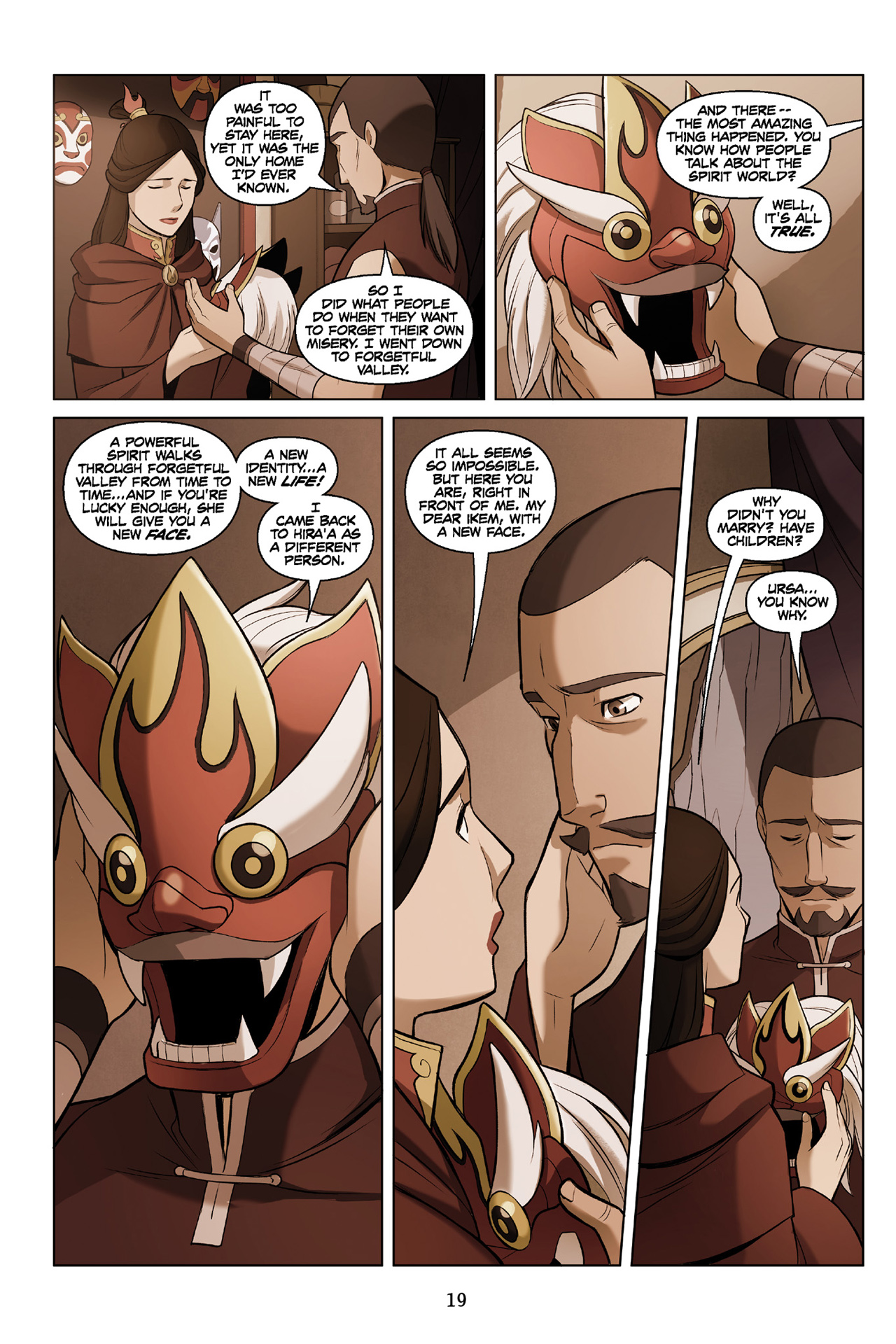 Read online Nickelodeon Avatar: The Last Airbender - The Search comic -  Issue # Part 3 - 20