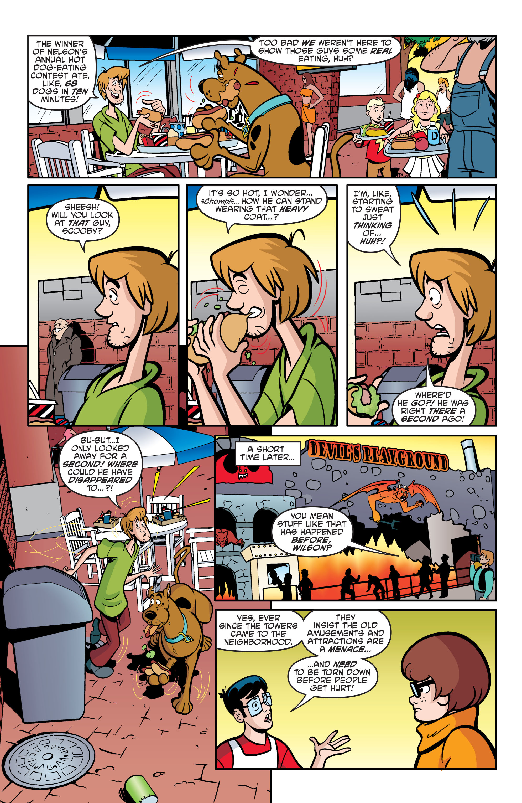 Read online Scooby-Doo: Where Are You? comic -  Issue #54 - 16