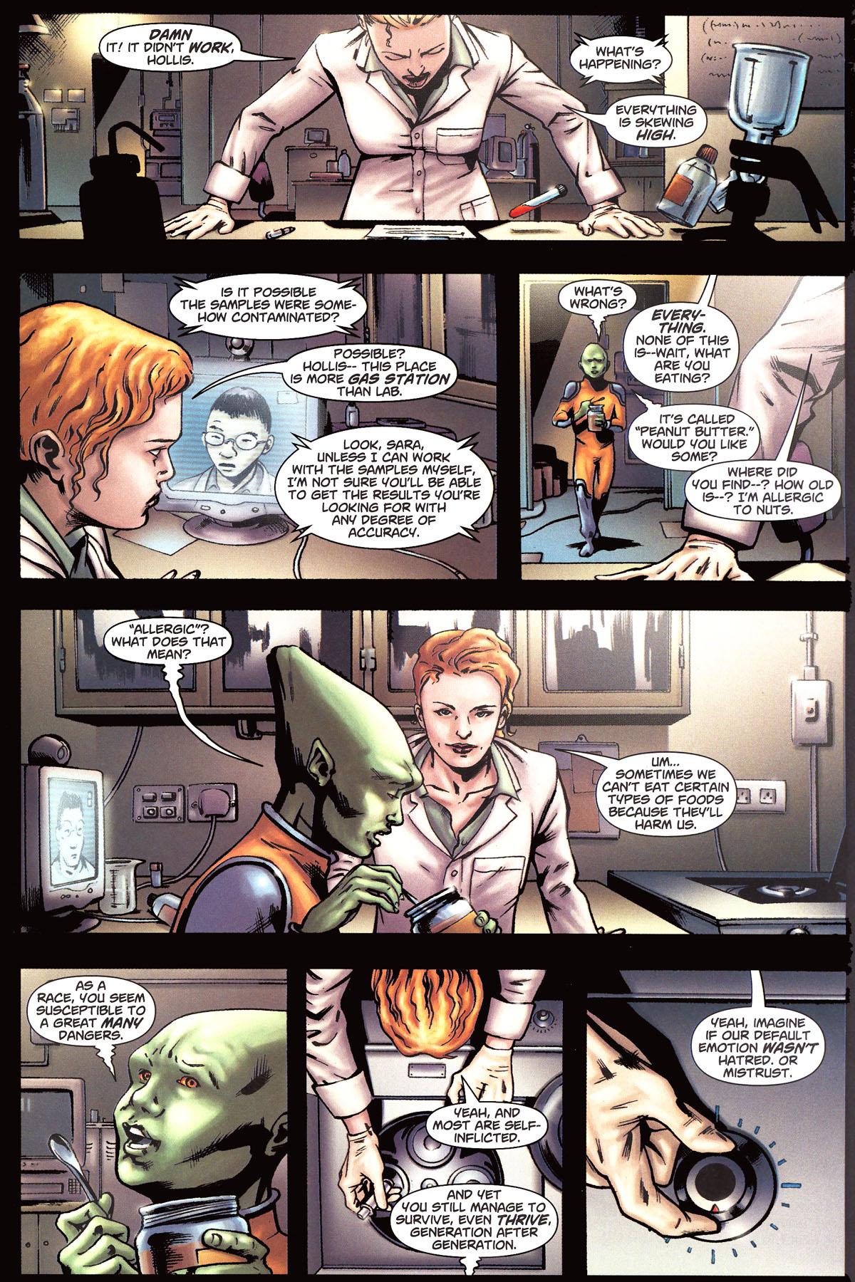 Read online Martian Manhunter (2006) comic -  Issue #6 - 16