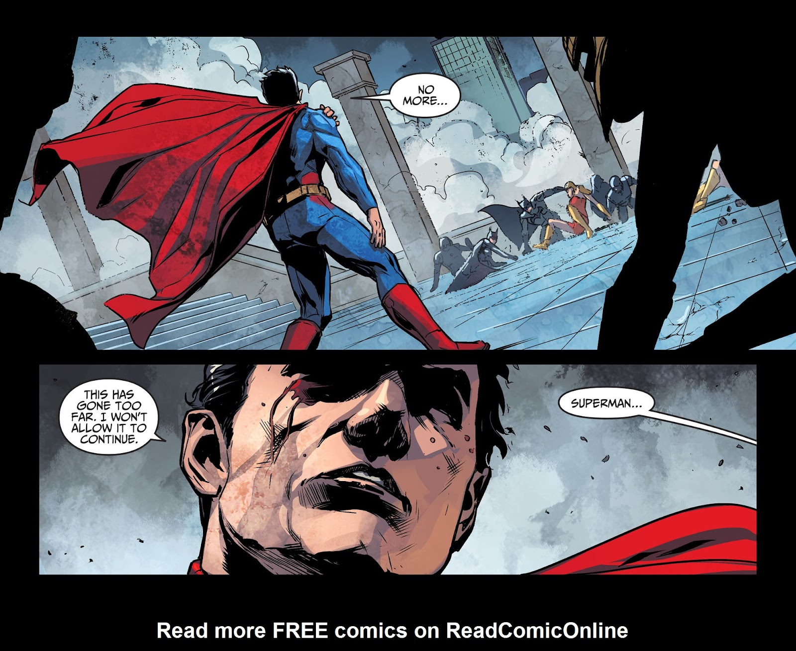 Injustice: Gods Among Us Year Four Issue #10 #11 - English 22