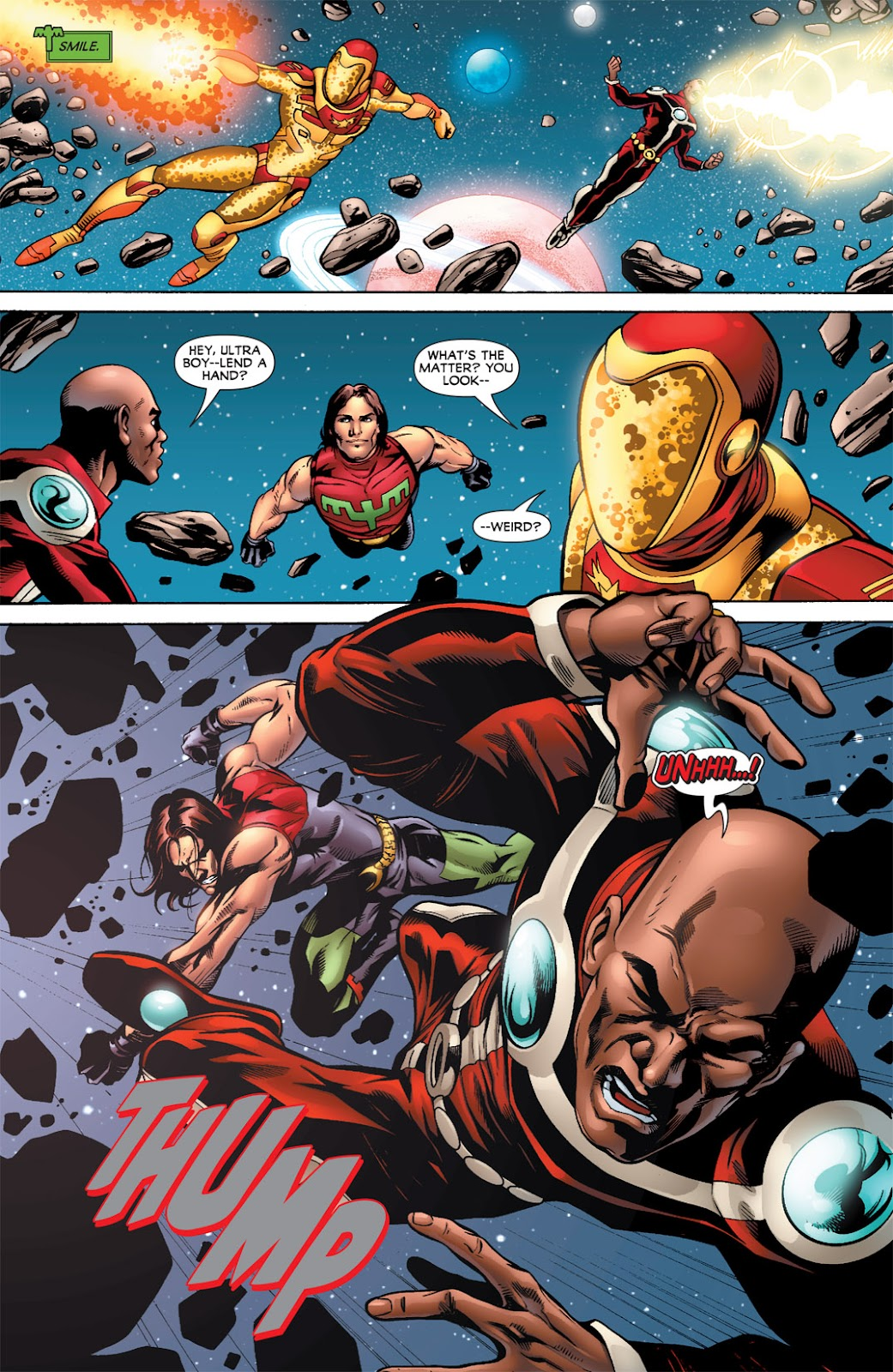 Legion of Super-Heroes (2010) Issue #2 #3 - English 16