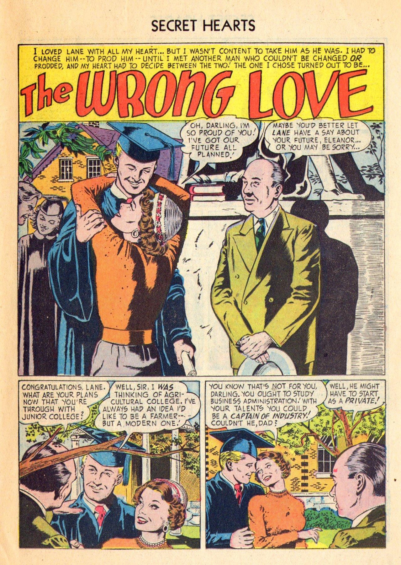 Read online Secret Hearts comic -  Issue #18 - 11