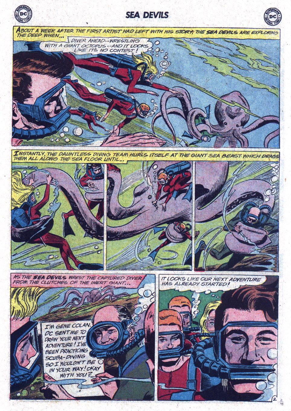 Read online Sea Devils comic -  Issue #13 - 15