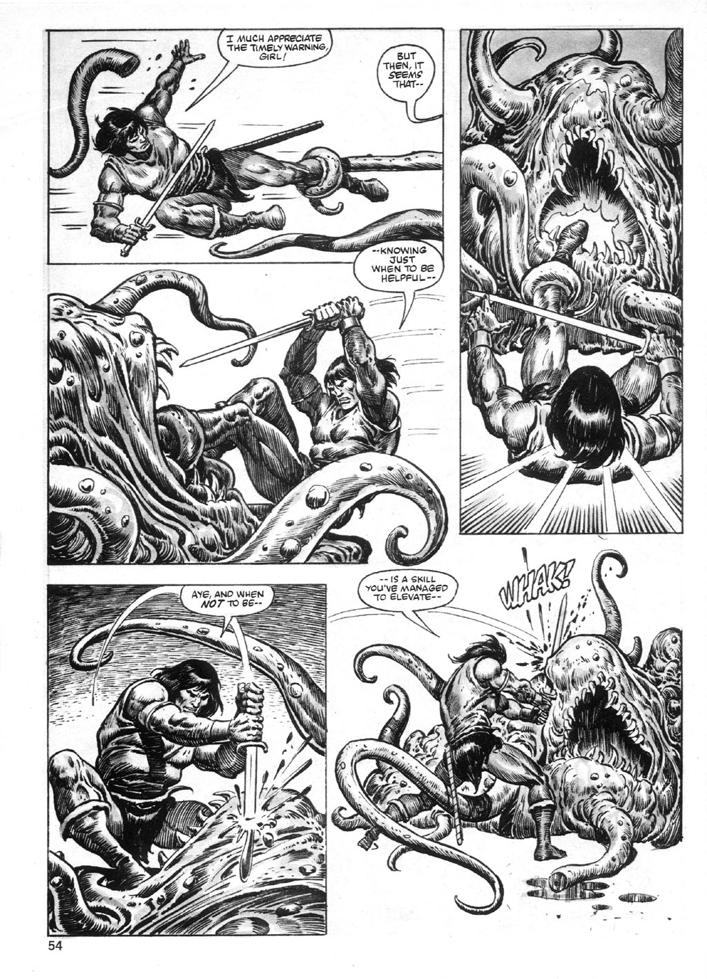 The Savage Sword Of Conan Issue #95 #96 - English 54