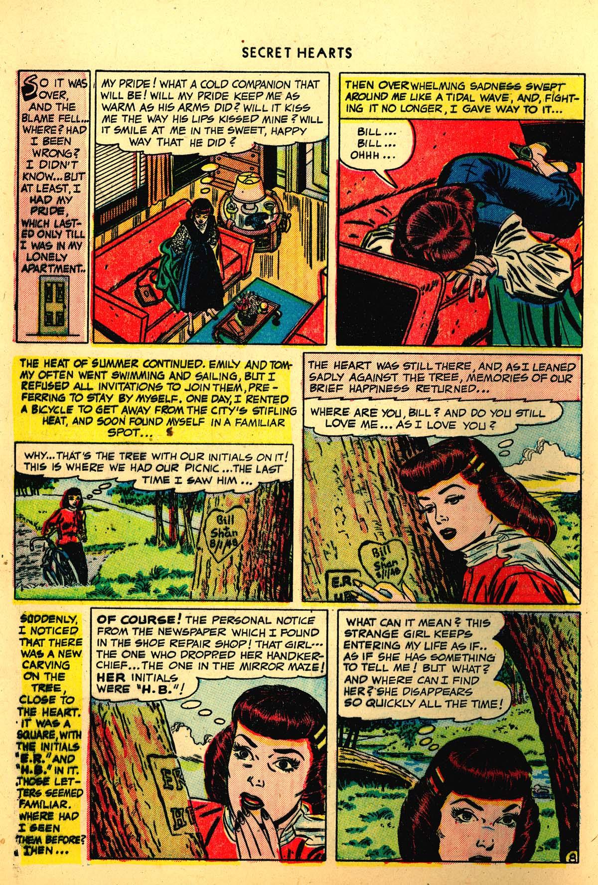 Read online Secret Hearts comic -  Issue #4 - 10
