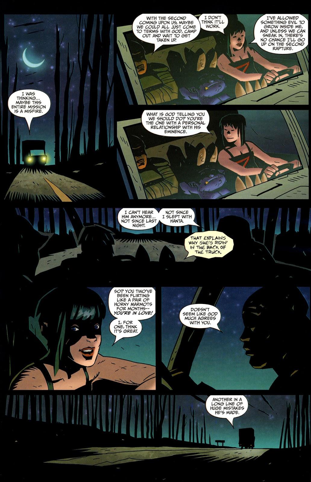 Strange Girl Issue #17 #18 - English 19
