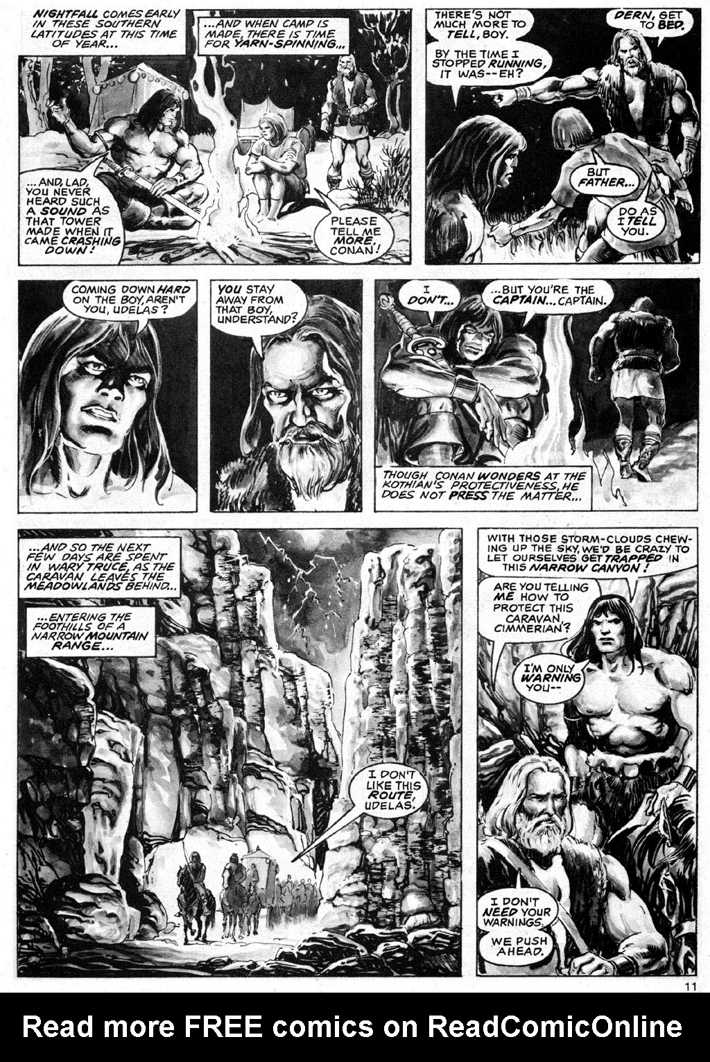 The Savage Sword Of Conan Issue #69 #70 - English 11