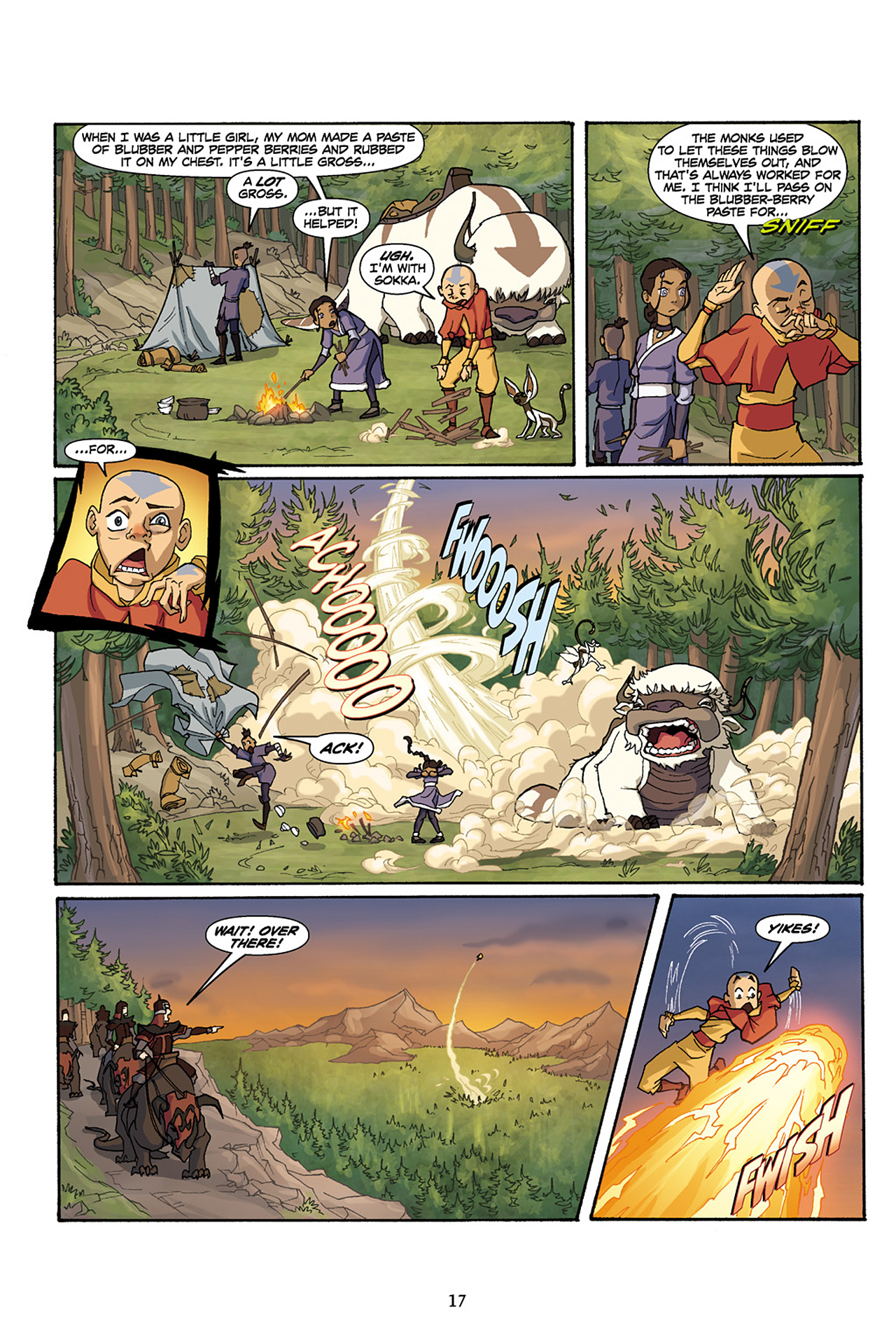 Nickelodeon Avatar: The Last Airbender - The Lost Adventures chap full pic 18
