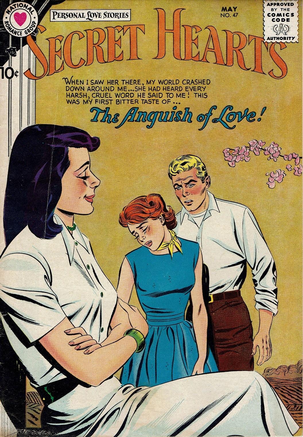 Read online Secret Hearts comic -  Issue #47 - 1