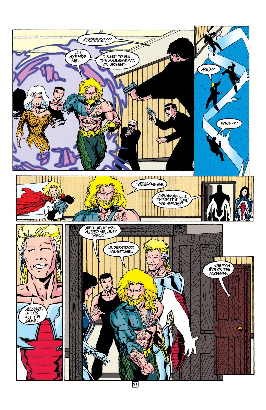 Aquaman (1994) Issue #24 #30 - English 22