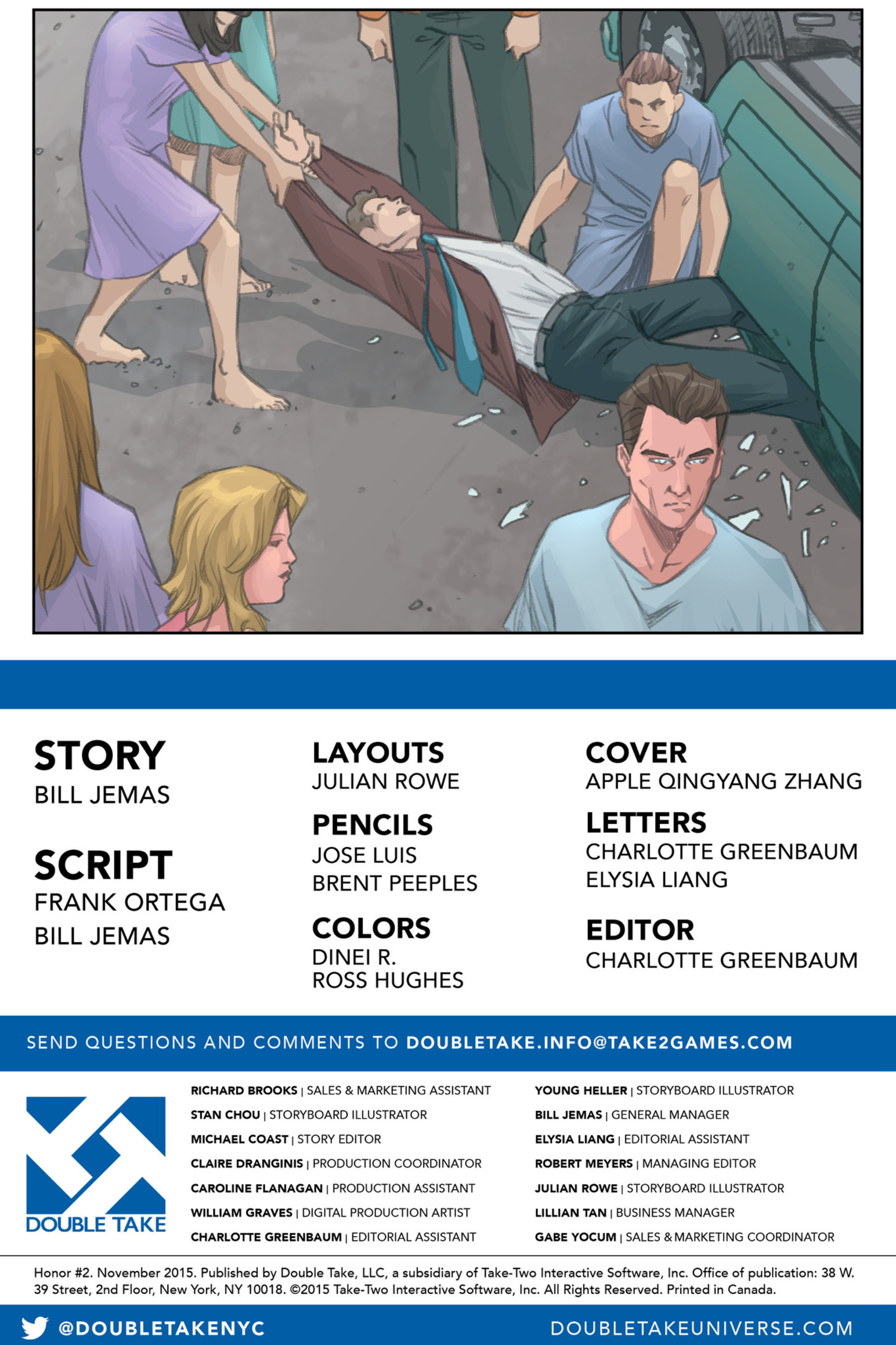 Read online Honor comic -  Issue #2 - 18