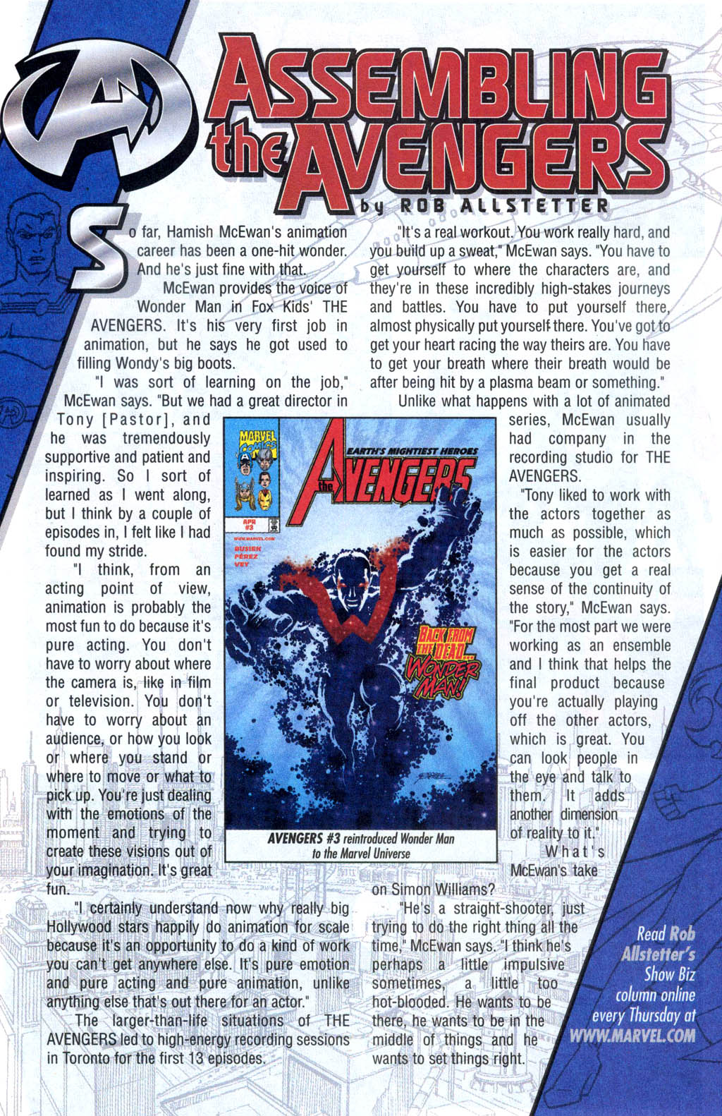 Read online Avengers United They Stand comic -  Issue #6 - 23