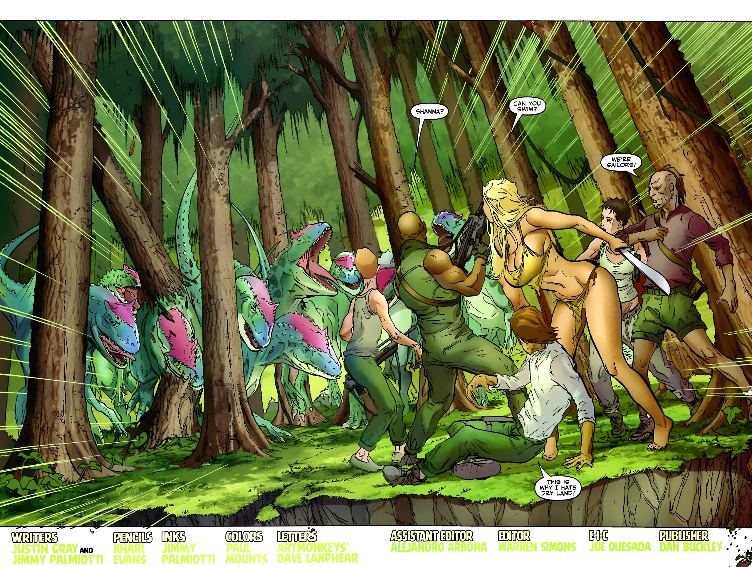 Read online Shanna the She-Devil: Survival of the Fittest comic -  Issue #2 - 4