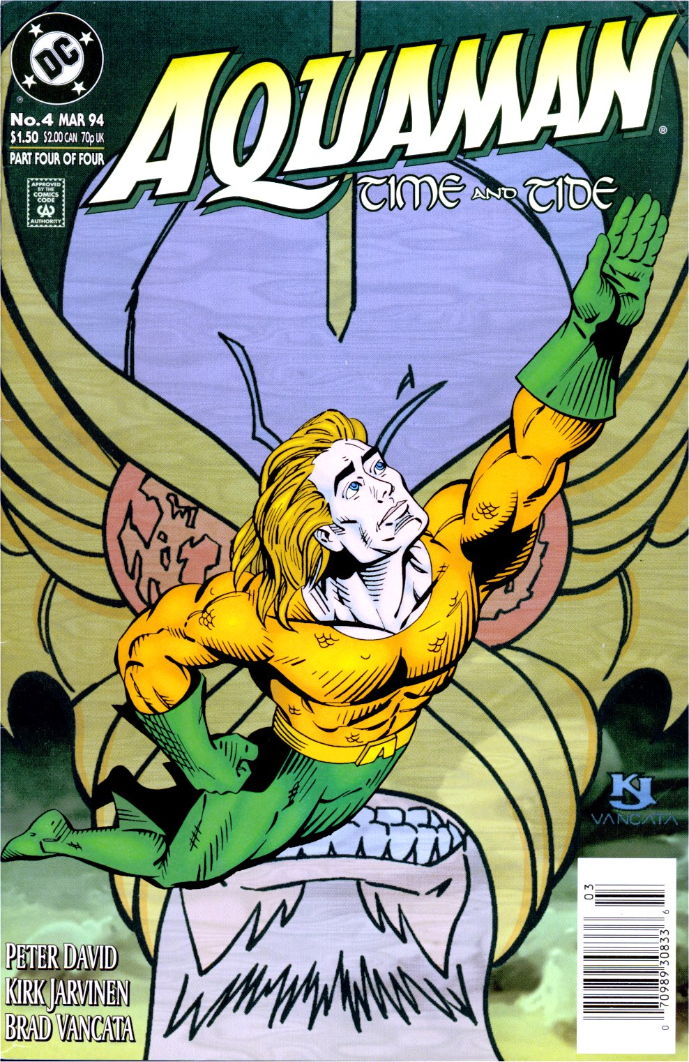 Aquaman: Time and Tide 4 Page 1
