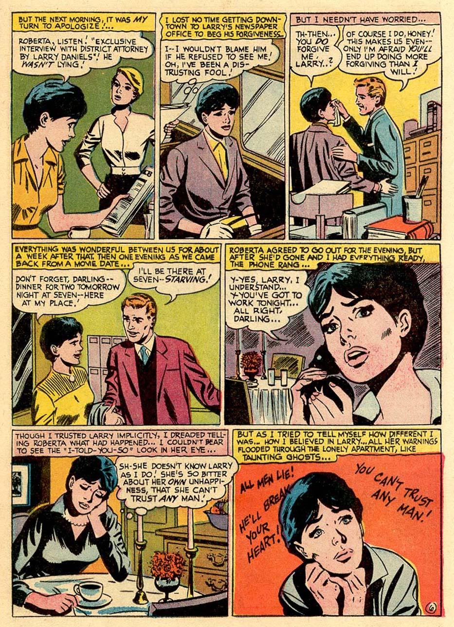 Read online Secret Hearts comic -  Issue #122 - 16