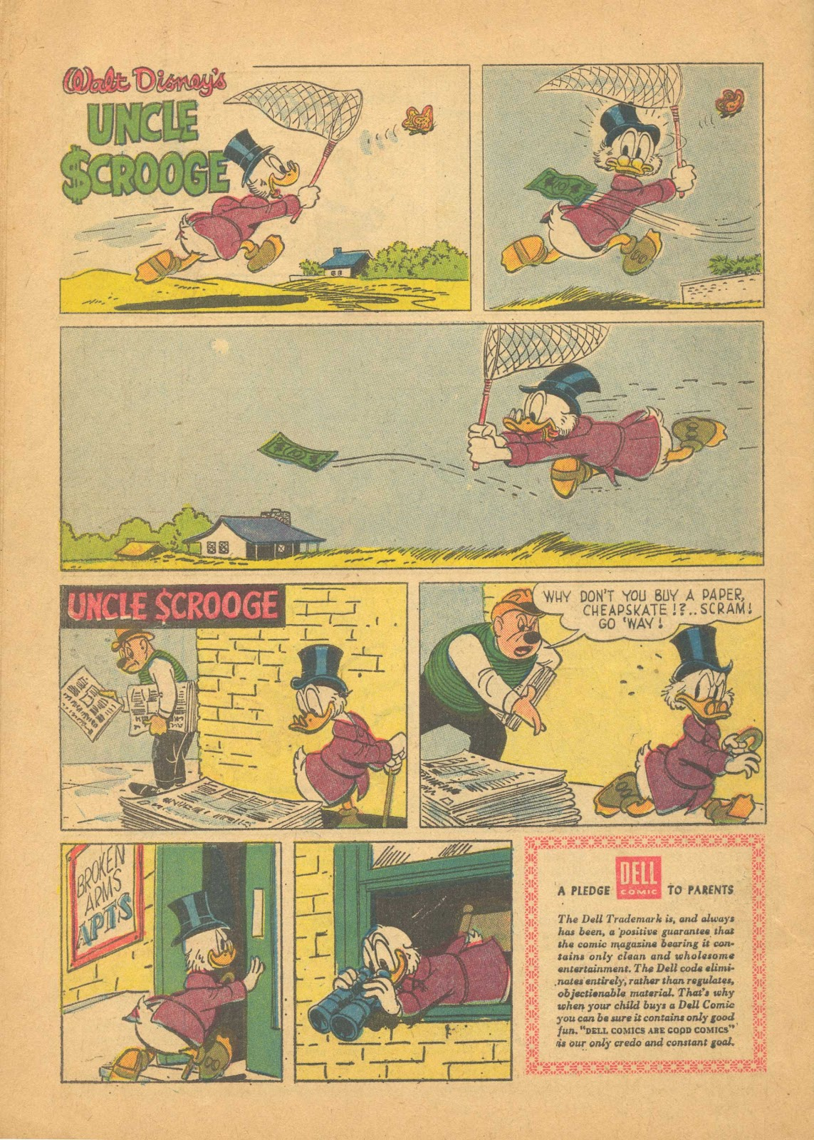 Uncle Scrooge (1953) Issue #25 #25 - English 34