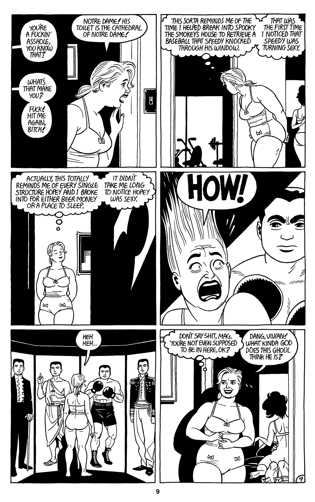 Read online Love and Rockets (2001) comic -  Issue #3 - 11