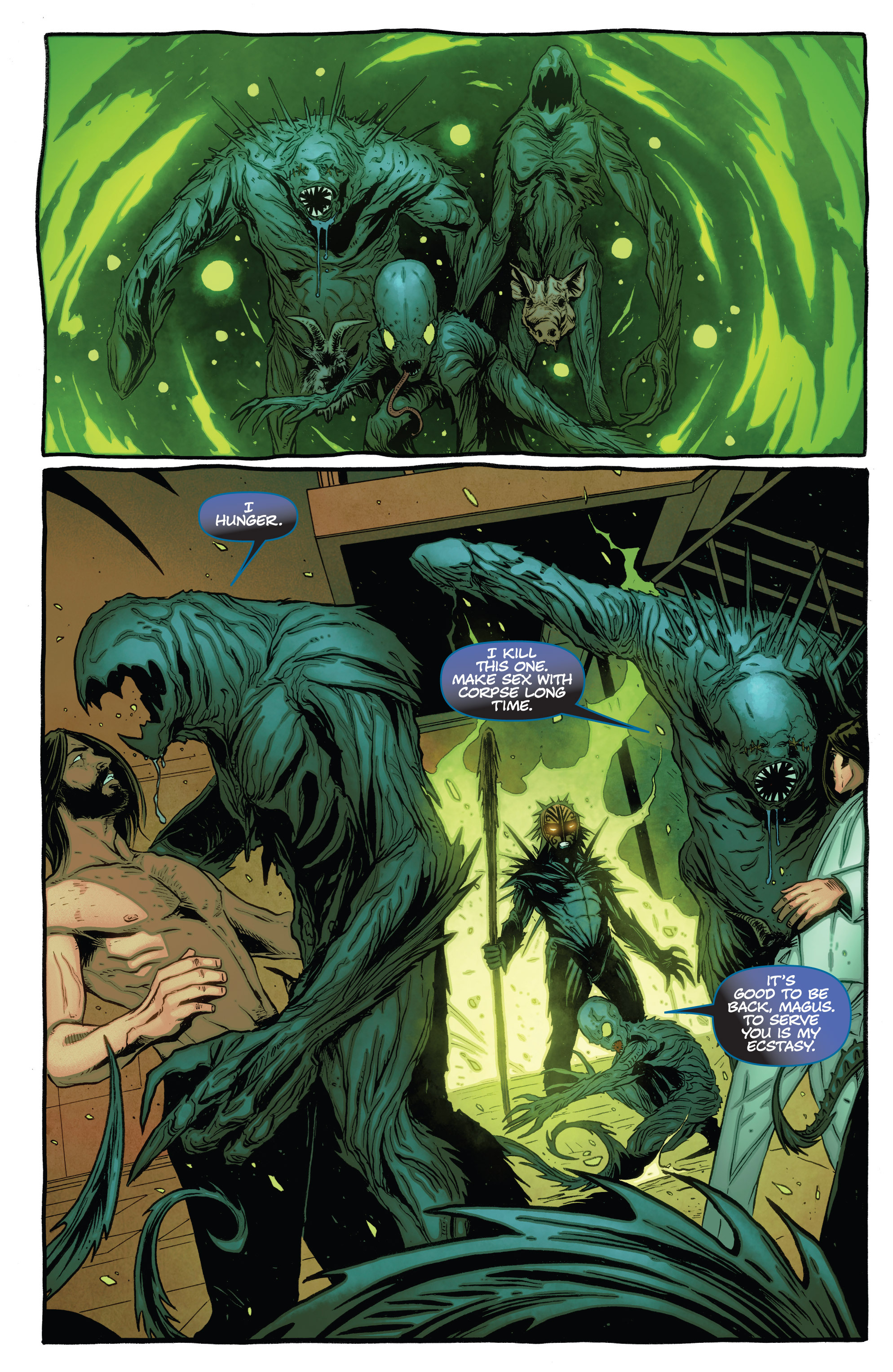 Read online The Darkness (2007) comic -  Issue #115 - 5