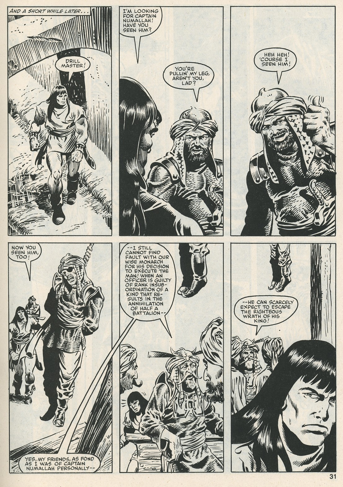 The Savage Sword Of Conan Issue #112 #113 - English 32