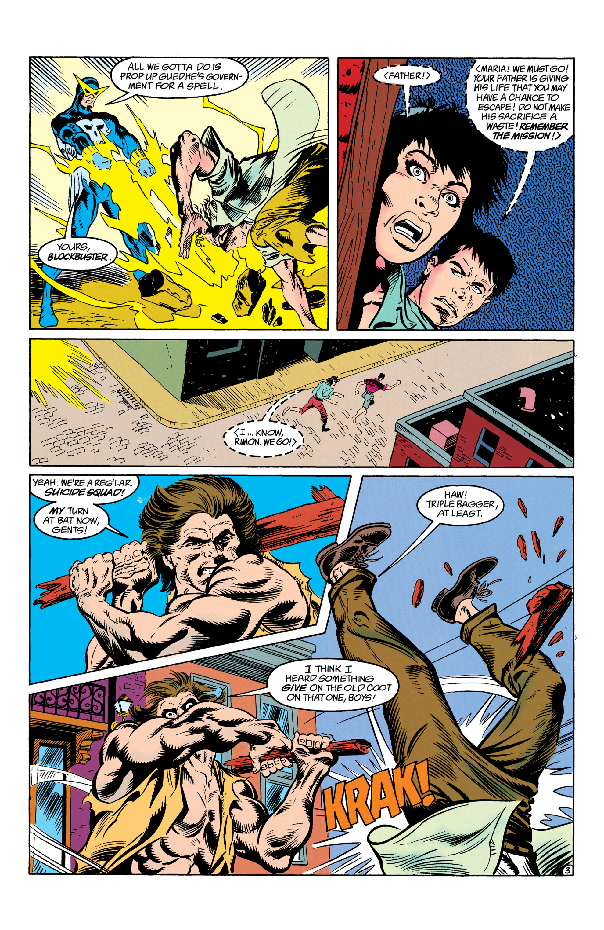 Read online Suicide Squad (1987) comic -  Issue #63 - 4