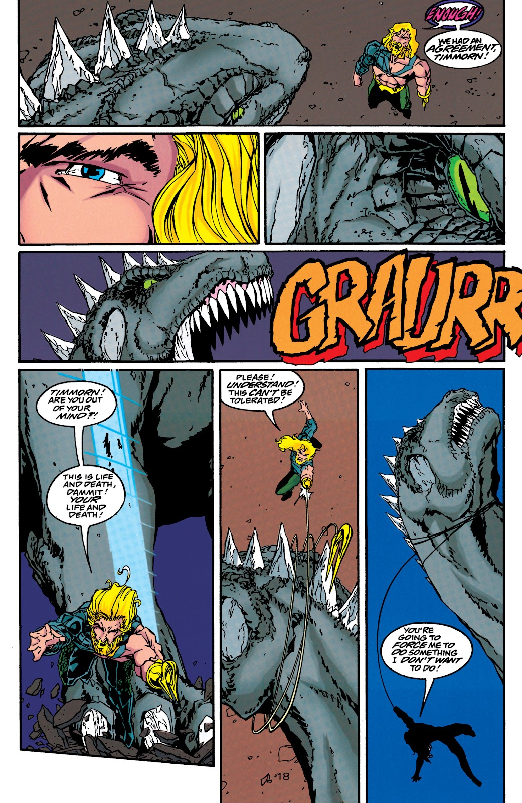 Aquaman (1994) Issue #44 #50 - English 19