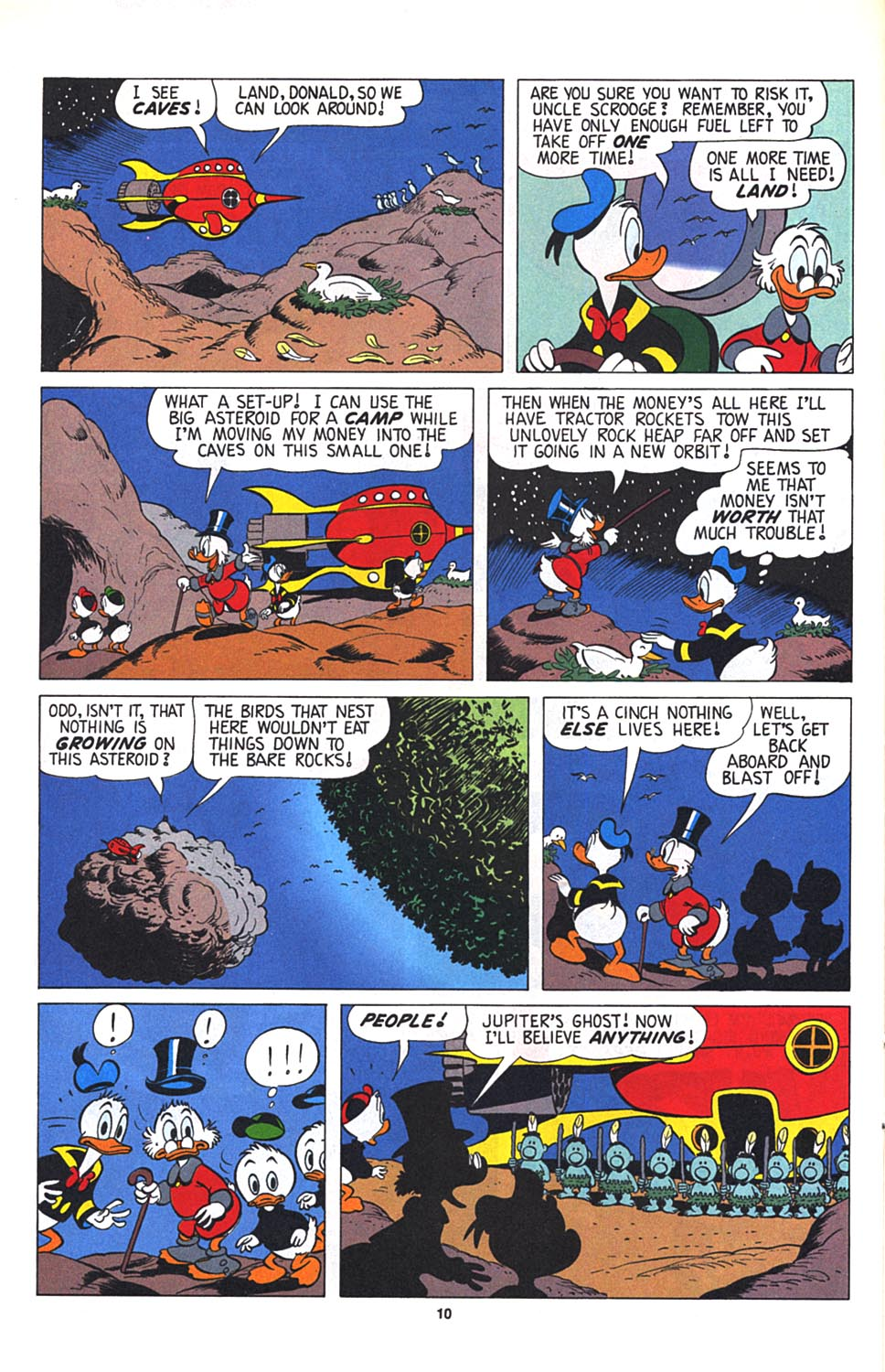 Uncle Scrooge (1953) Issue #268 #268 - English 11