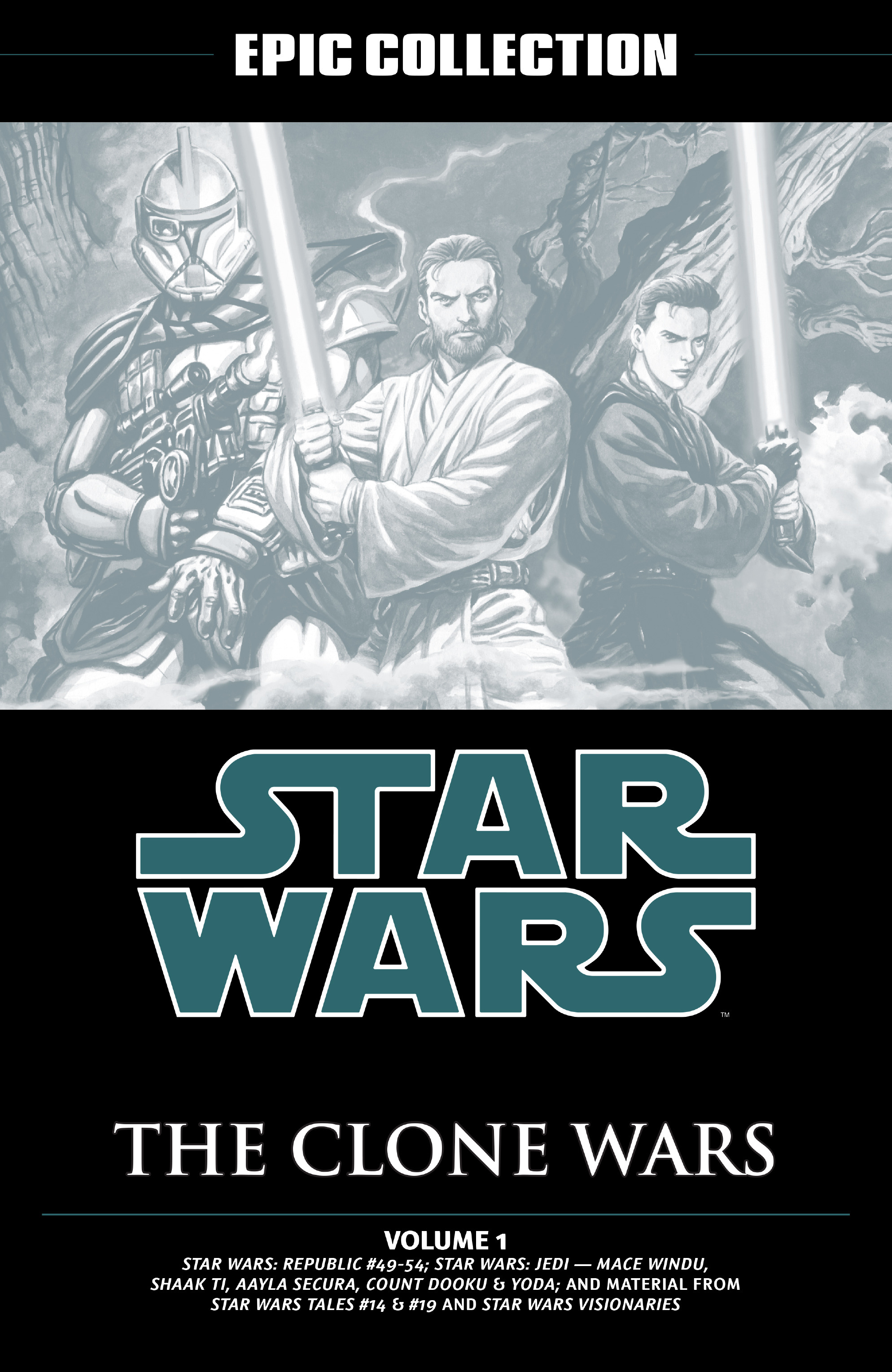 Star Wars Legends Epic Collection: The Clone Wars chap 1 pic 2