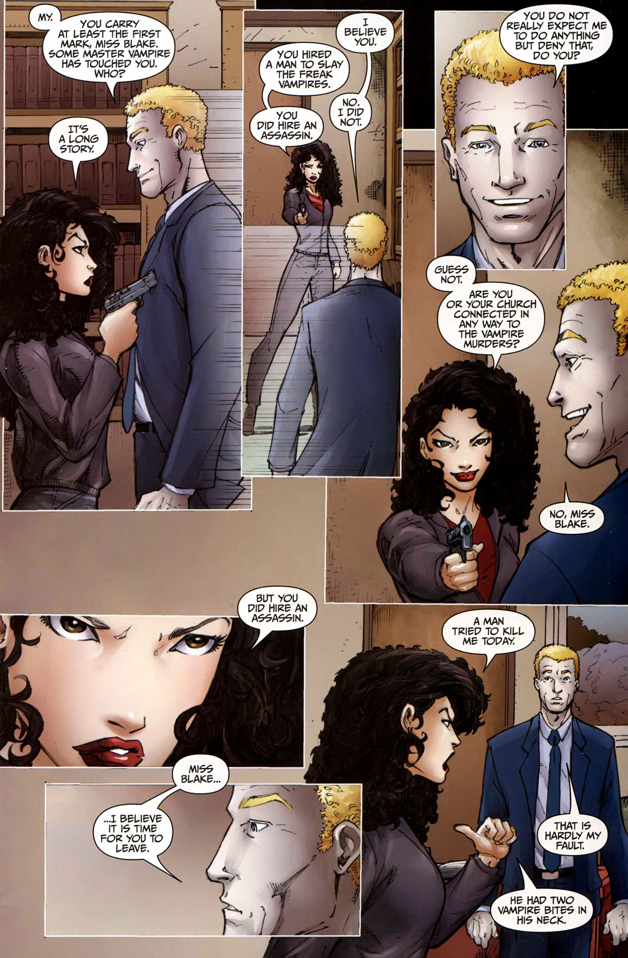 Read online Anita Blake, Vampire Hunter: Guilty Pleasures comic -  Issue #9 - 11