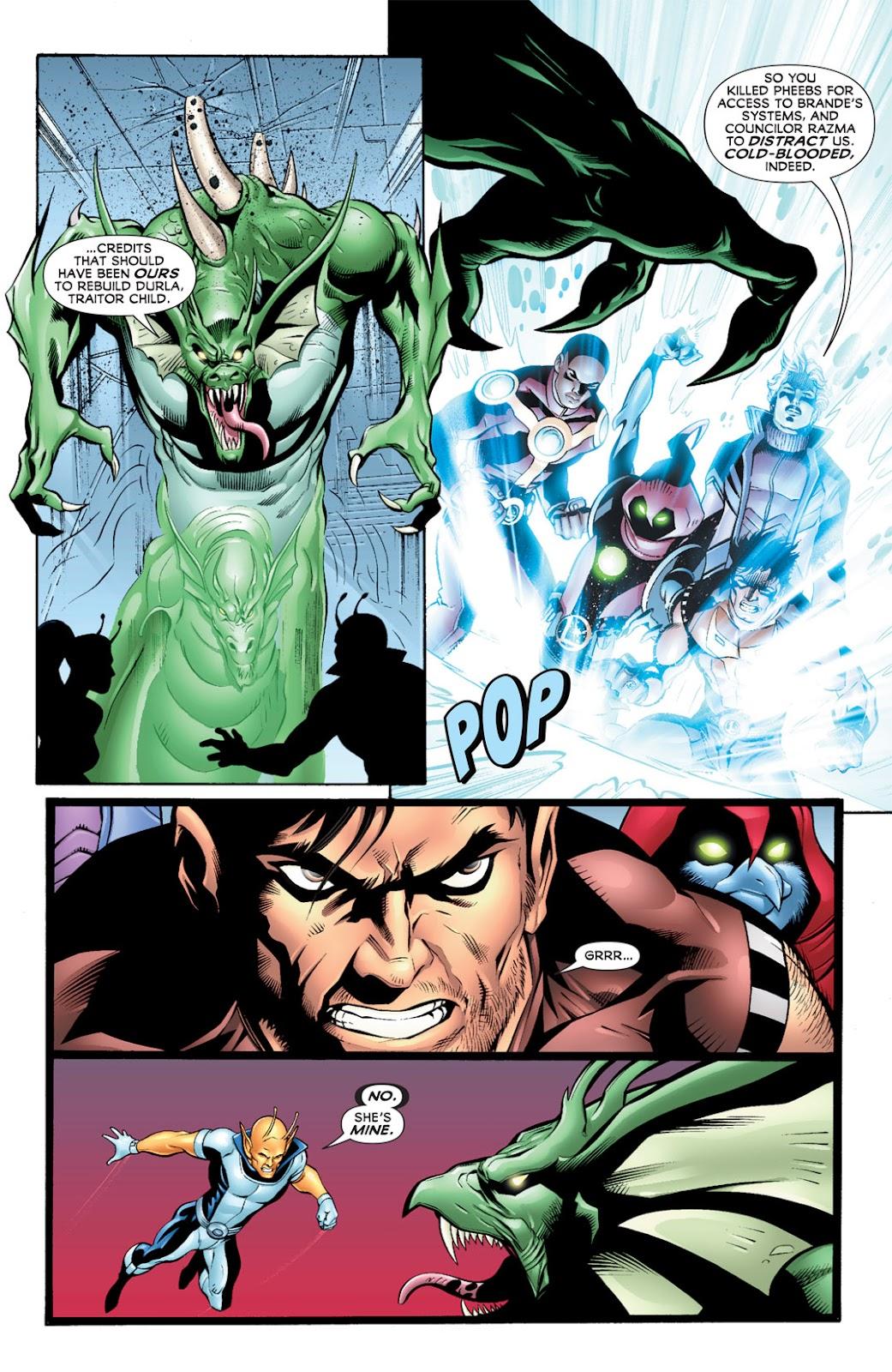 Legion of Super-Heroes (2010) Issue #10 #11 - English 19